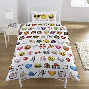 Parure De Lit Foot 1 Personne Fraîche Parure Emojis 1 Personne Housse De Couette 137×198 Cm Taie D oreiller 50 X75 Cm