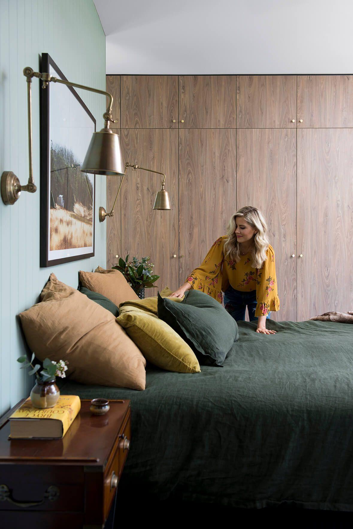 Parure De Lit Foot Inspiré Une Chambre Verte Pour Une Ambiance Cosy Home Decor