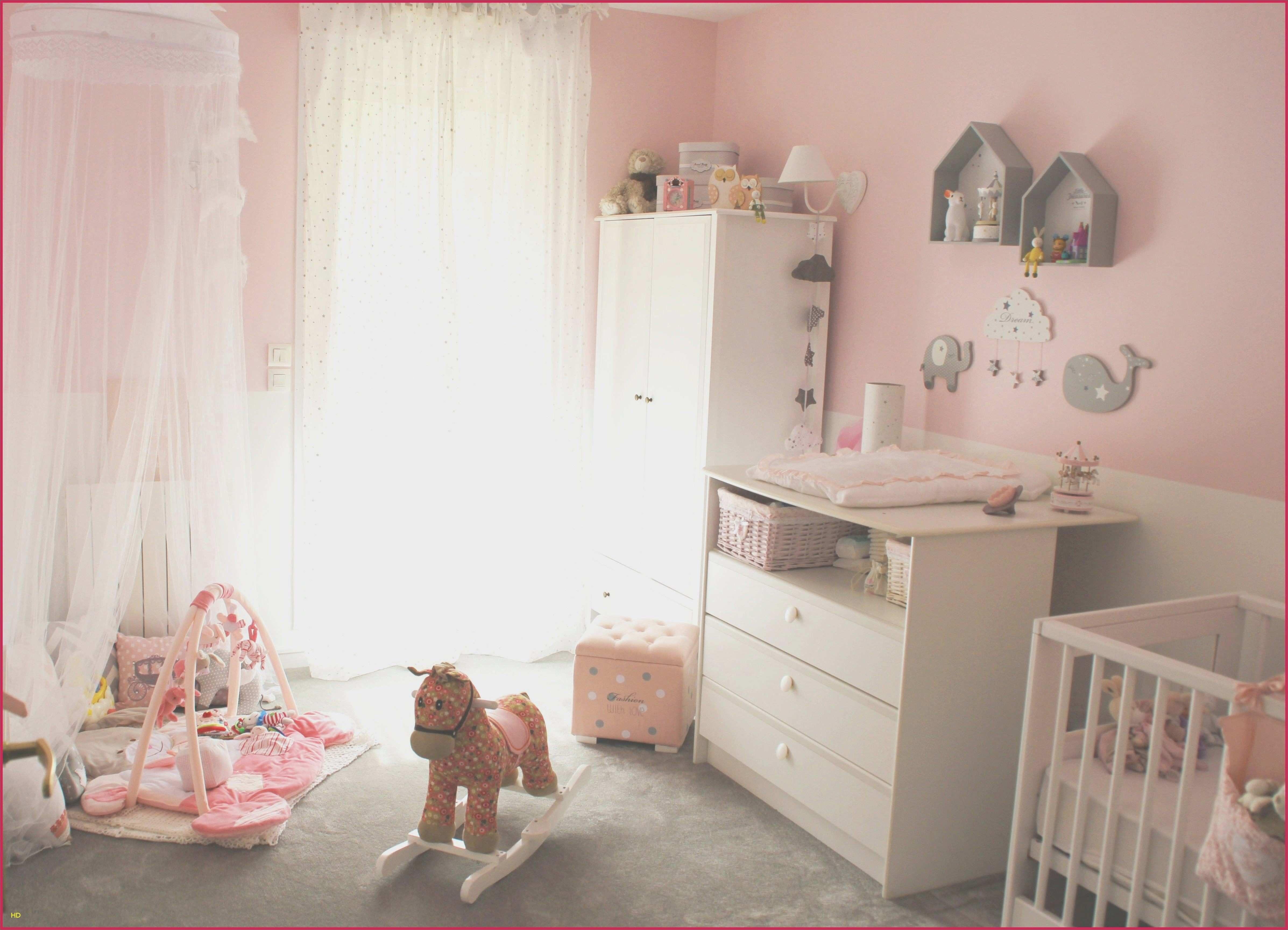 Parure De Lit Gris Et Rose Douce Chambre Bébé Fille Fee Elegant Merveilleux Chambre B Fille Deco Gris