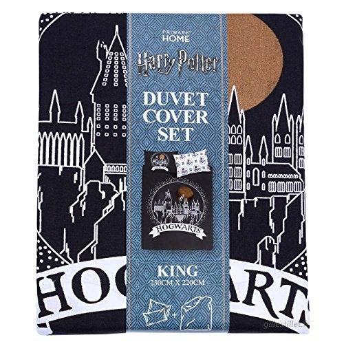 Parure De Lit Harry Potter Beau Parure De Lit Réversible King Size 1 Housse De Couette Et 2 Taies