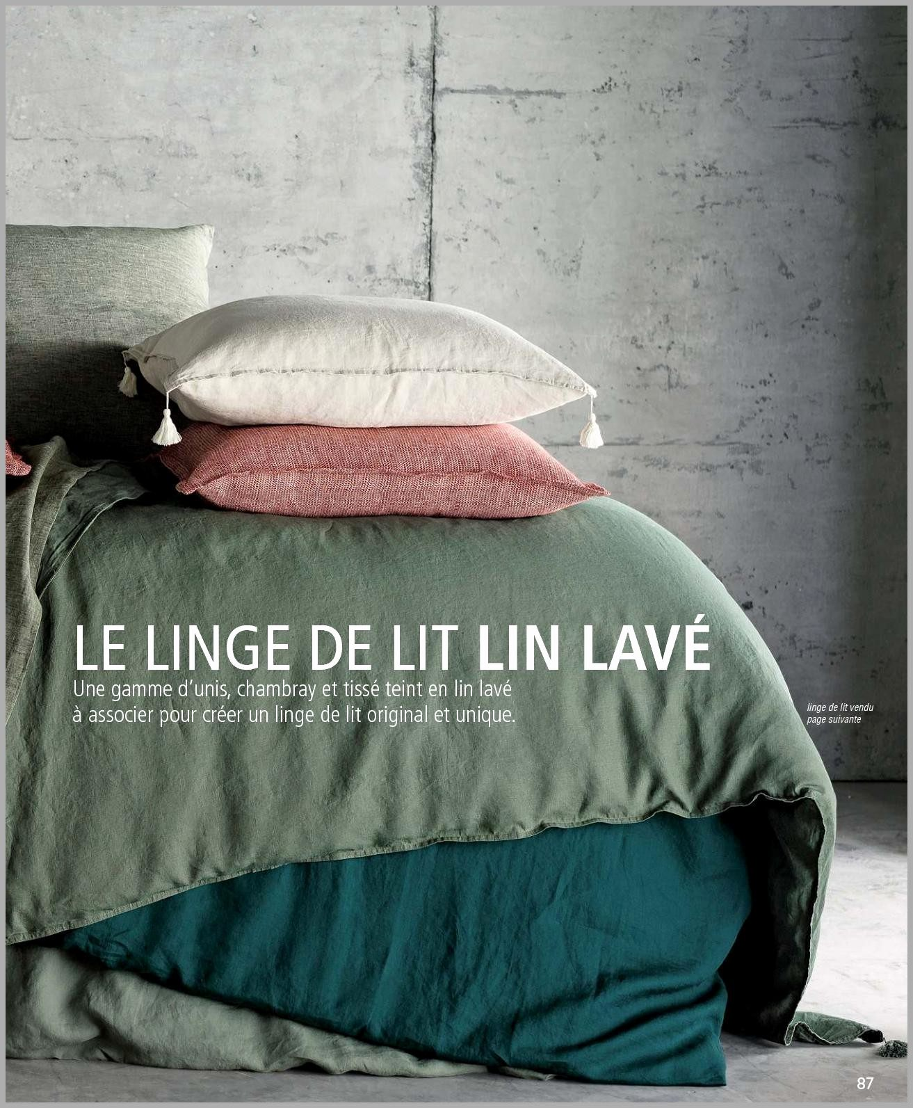 Parure De Lit La Redoute Le Luxe 72 Beau Graphie De Catalogue La Redoute Linge De Maison