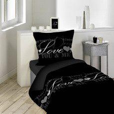 Parure De Lit Noir De Luxe Linge De Lit Pas Cher Linge De Maison Maison Aushopping