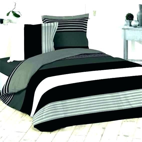 Parure De Lit Noir Et Blanc Beau Linge De Lit Noir Parure Lit Noir Elegant Parure Lit Noir Linge