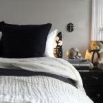 Parure De Lit Noir Et Blanc Bel Parure Lit Adulte élégant Linge De Lit Design Matelas Thiriez