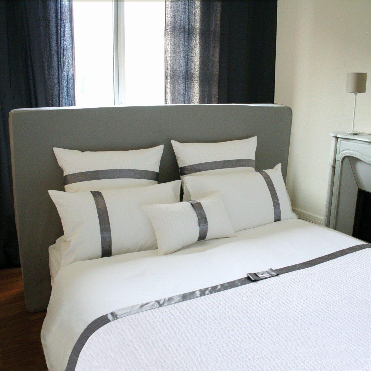 Parure De Lit Paris Inspirant Parure De Lit 120—190 Luxe Lit Simple Pas Cher Lit Adulte Blanc