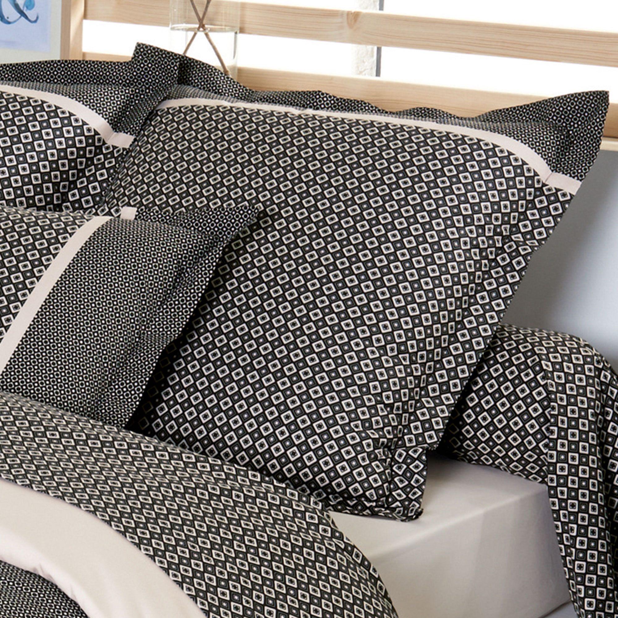 Parure de lit Percale pur coton peigné 240x220 cm GATSBY