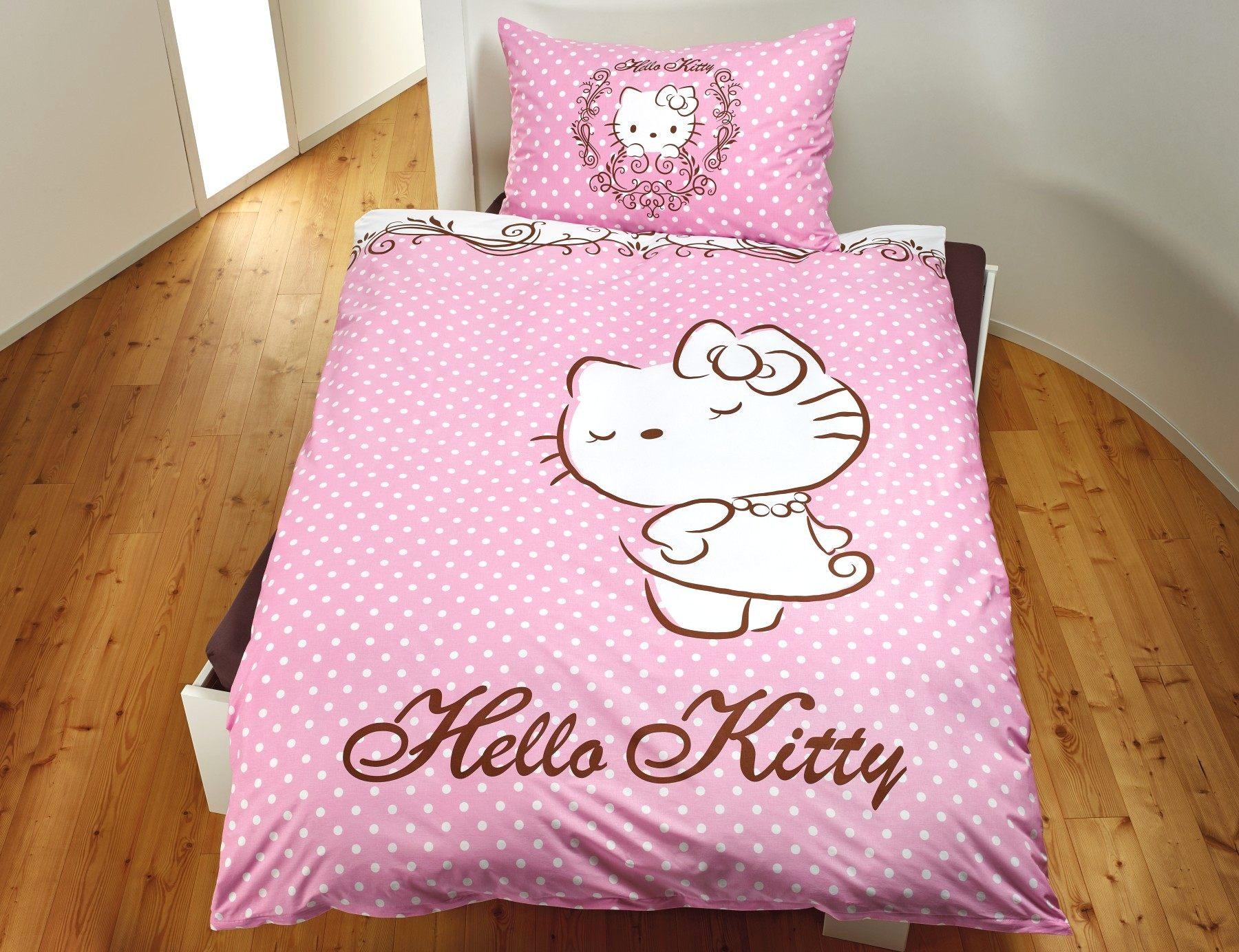 Parure De Lit Rose Pale Élégant Linge De Lit Hello Kitty Rose Lehner Versand Avec Hello