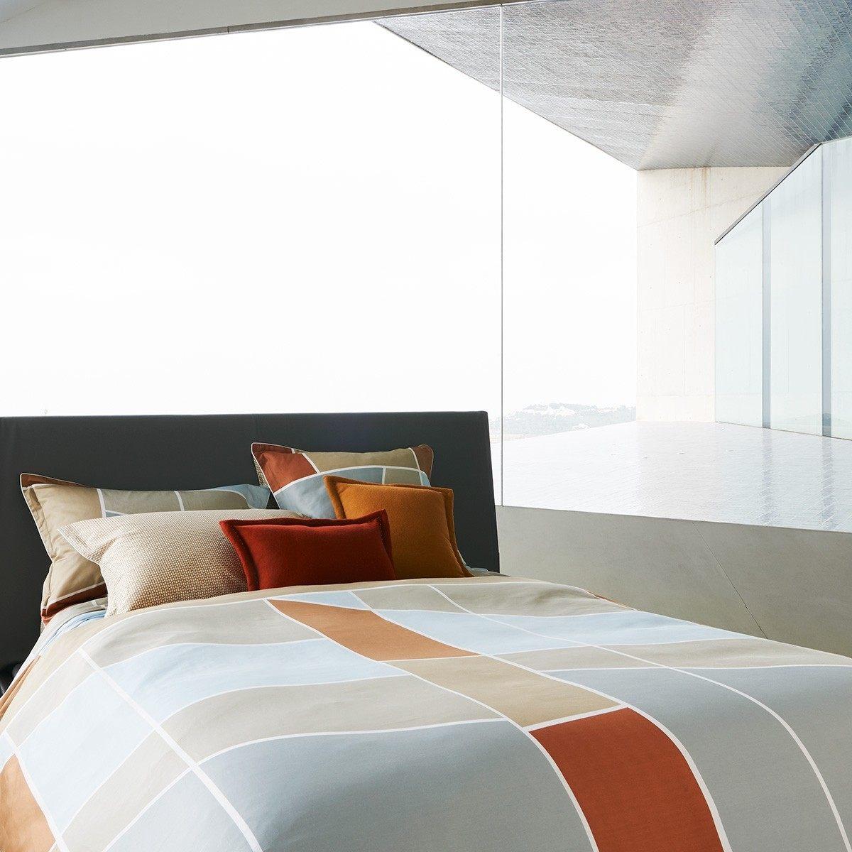 Parure De Lit Satin De Coton Unique Parure De Lit Cityligh Printed Bed Sets Bed Linen Olivier Desforges