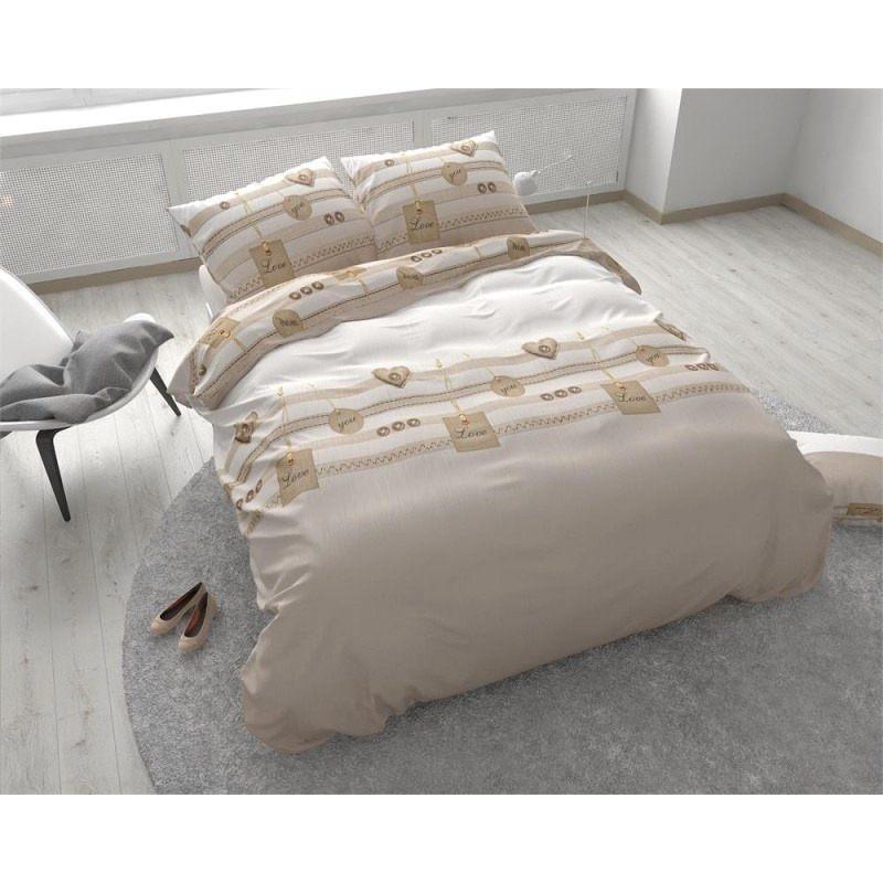 Parure De Lit Uni Luxe Lit Blanc 140—200 Tete De Lit A Housser Cdiscount Drap Housse Beau