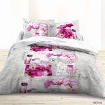 Parure De Lit Violet Luxe Housse De Couette Pour Lit 140 Housse De Couette Noir Et Rose Luxe