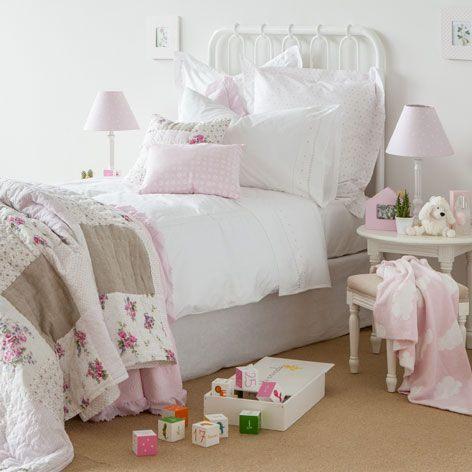 Parure De Lit Zara Home Inspiré Linge De Lit Percale Broderie Cœur Chambre Mini