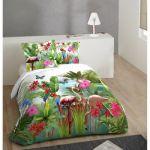 Parure Lit 140x190 Unique Housse De Couette Pour Lit 140 Housse De Couette Noir Et Rose Luxe