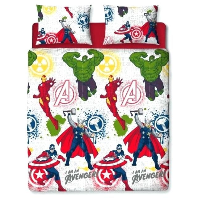 Parure Lit 70×140 Fraîche Parure Lit Avengers Parure De Lit Housse De Couette Taie oreiller