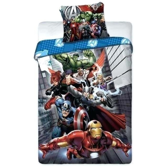Parure Lit 90x190 Impressionnant Parure Lit Avengers Parure De Couette Parure De Lit Avengers Marvel