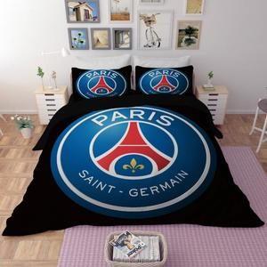 Parure Lit 90x190 Luxe Parure De Lit Football Achat Vente Pas Cher
