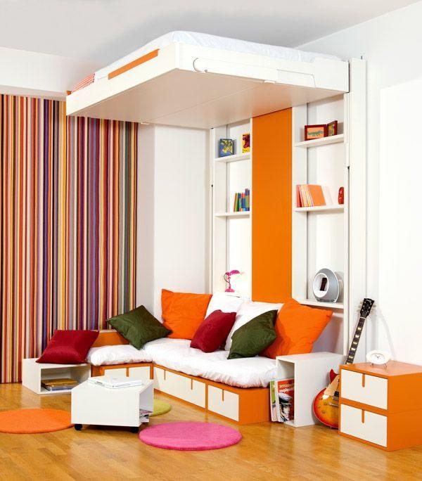 Petit Lit 2 Places Inspirant Chambre  Coucher 103 Grandes Idées Archzine