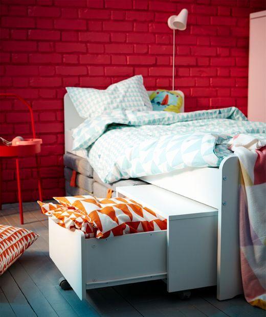 """Pouf Lit Ikea Élégant Pouf Lit Ikea Beau Le Lit Blanc Ikea Sl""""kt Et son Module De"""