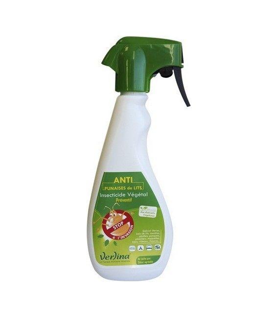 Punaise de lit insecticide végétal préventif