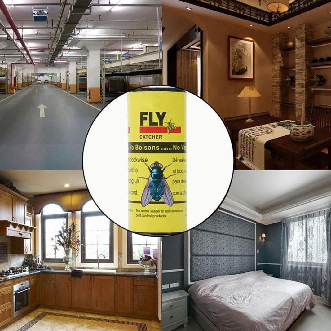 Prevention Punaise De Lit Nouveau Diadia Fly Paper Sticky Fly Bandes Portable Et Efficace Flying