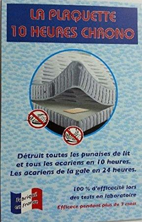Plaquette Anti Punaise De Lit s Luttez Contre Les Punaises De