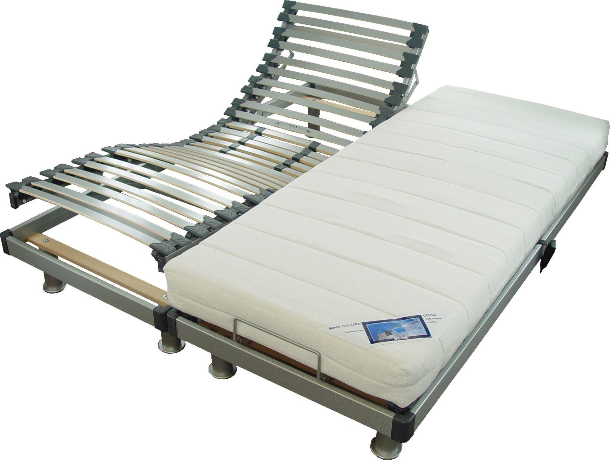 protege matelas pour lit electrique 2x80x200 douce sommier 80 200 conforama meilleur surmatelas. Black Bedroom Furniture Sets. Home Design Ideas