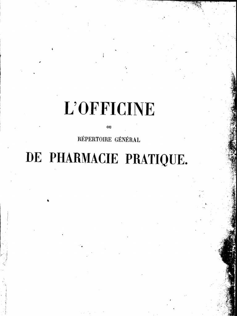 Punaise De Lit Café Moulu Magnifique L Officine Ou Répertoire Général De Pharmacie Pratique Nb