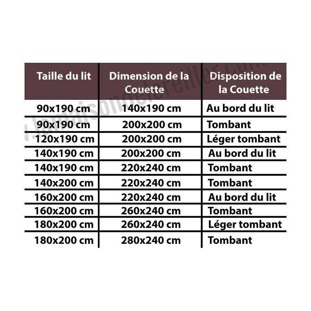 Quelle Taille De Couette Pour Un Lit 160×200 Unique Housse De Couette Pour Lit 180×200