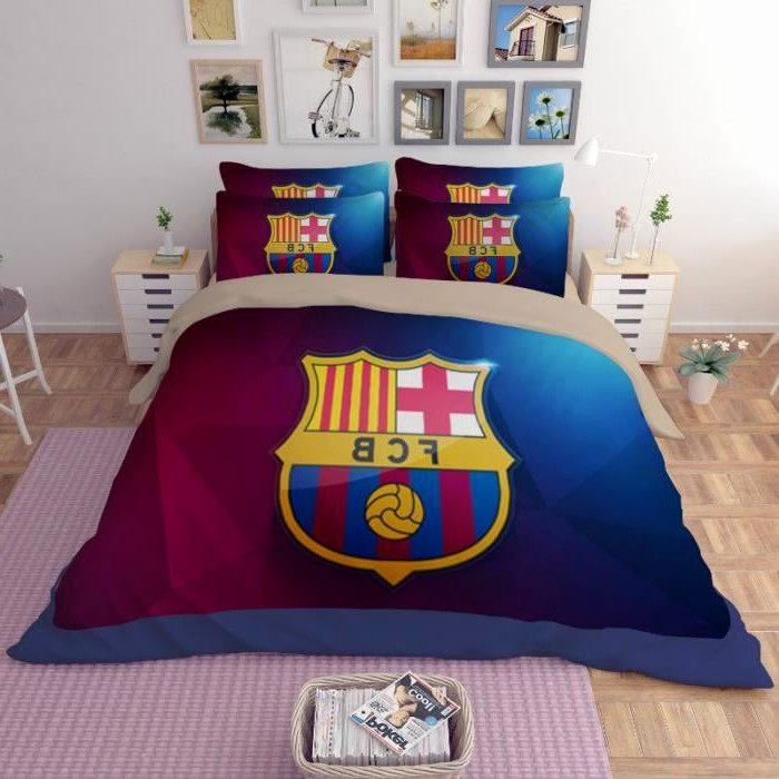 Rideau Pour Lit Mezzanine Beau Rideau Pour Lit Mezzanine Beau Parure De Lit Football Fc Barcelona