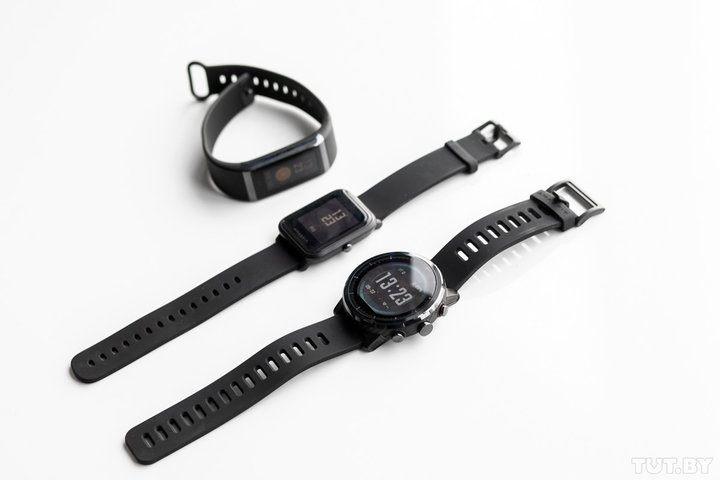 Samsung Gear 2 Lite Agréable Xiaomi на руке сравнитеРьный обзор смарт часов Amazfit Stratos Bip