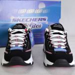 Skechers D Lites 2 Bel Skechers 6m Black White Pink Centennial D Lites Lace Up