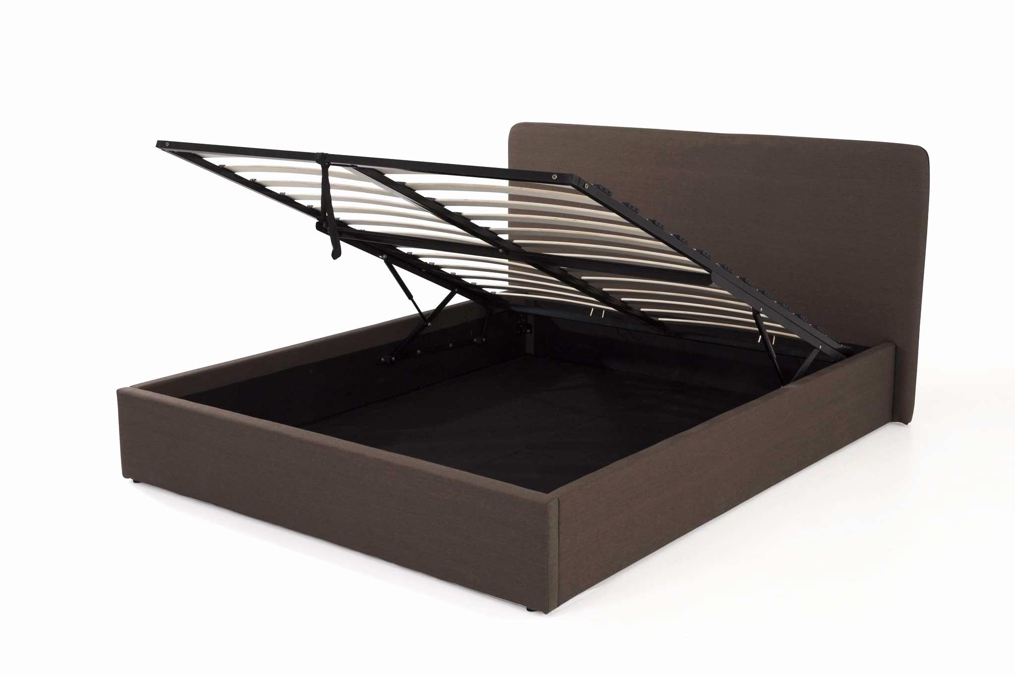 Sommier Lit 160×200 Inspiré Lit 160—200 Gris Beau Cadre De Lit Haut 160—200 Ikea Lit Malm 160