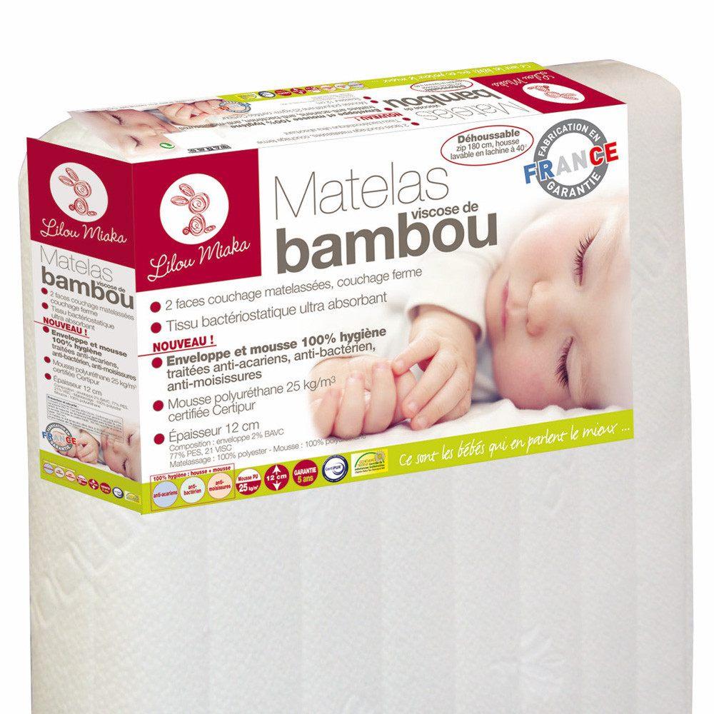 Sommier Lit Bébé 60×120 Magnifique Inspiration Matelas Bambou Bébé – Habora