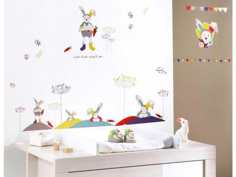 Stickers Lit Bébé De Luxe Stickers Muraux Chambre Bébé Bon Chambre B Fille Lit Cododo L Gant