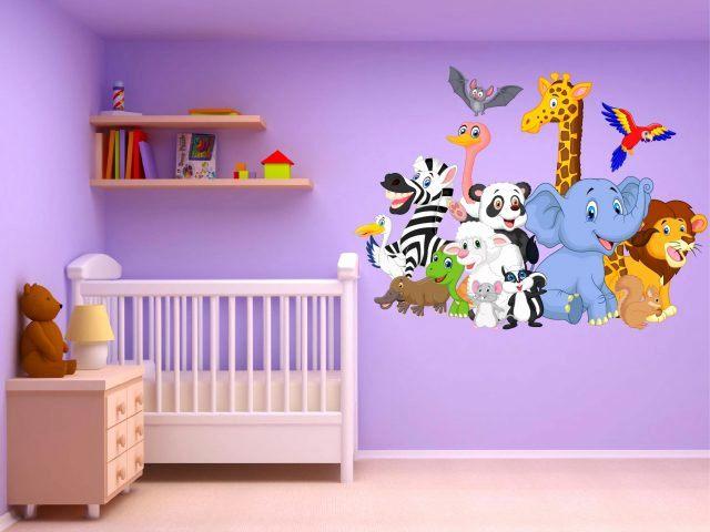 Peinture Chambre Bébé Fille Meilleur De Stickers Pour Chambre Bébé