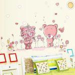 Stickers Tete De Lit Bel Acheter Tªte De Lit Rose Sticker Mural Pour Chambre D Enfants Home