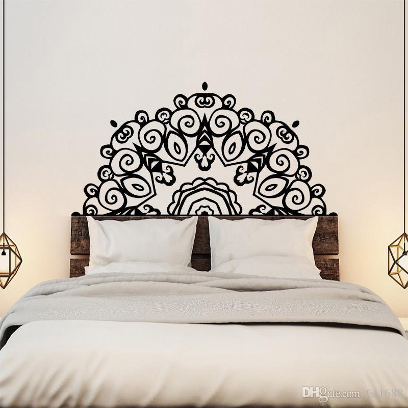 Stickers Tete De Lit Impressionnant Acheter Grande Tªte De Lit Wall Sticker Wall Mural Bed Bedside