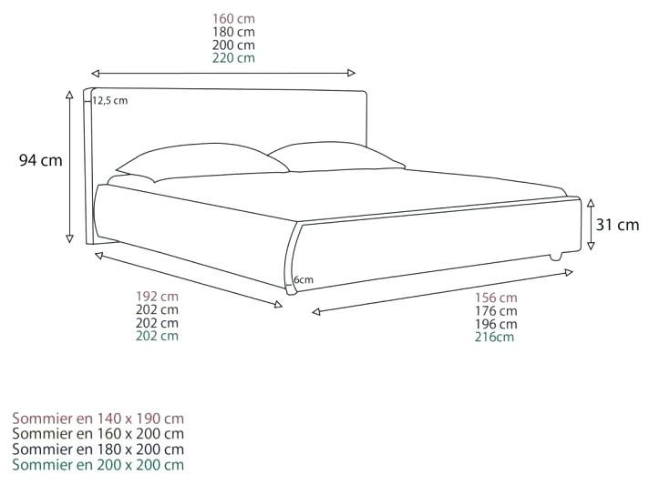 Taille Drap Pour Lit 160x200 Magnifique Taille Drap Pour Lit 140—190 Dimension Couette Pour Lit De 160 X 200