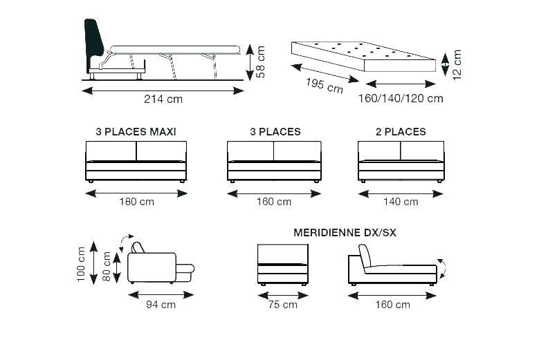 Taille Lit 2 Places Magnifique Dimension D Un Lit 1 Place – Boostmed