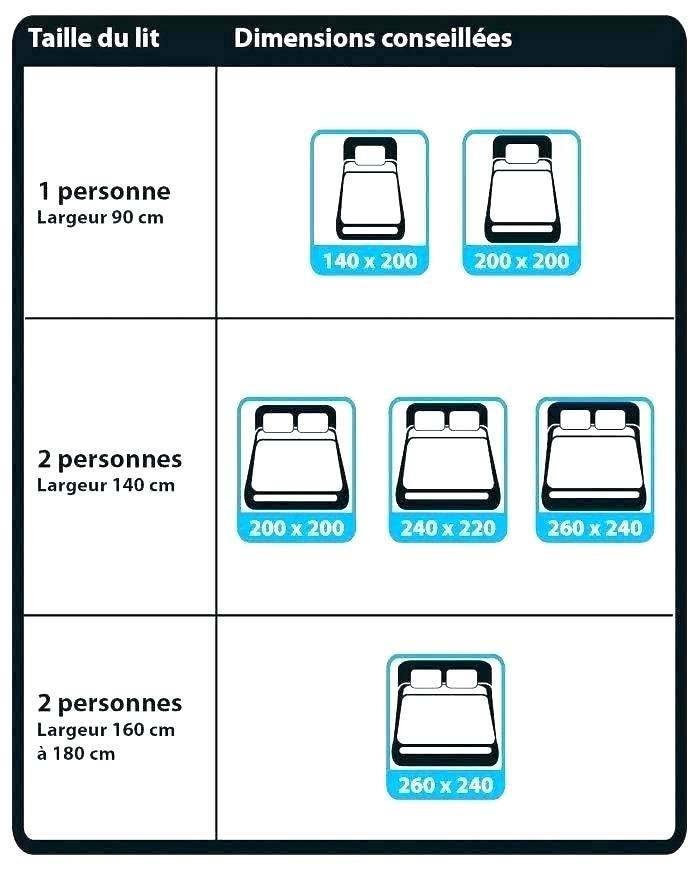 Taille Lit Une Place Frais Dimension D Un Lit 1 Place Dimensions Lit Une Place Taille Lit 1