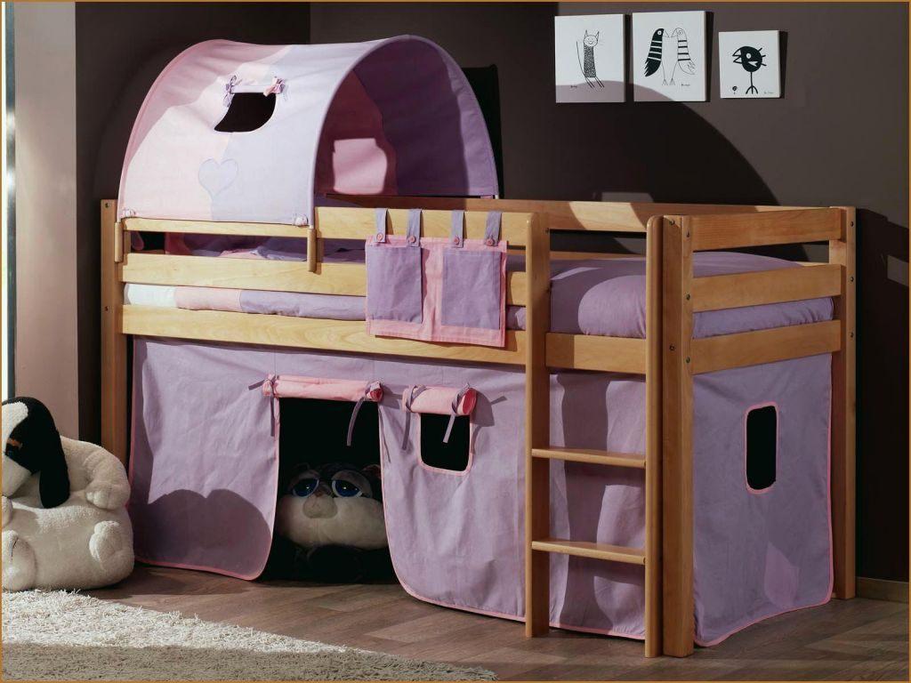 Tente De Lit Enfant Bel Cabane Pour Lit Mi Hauteur Zochrim