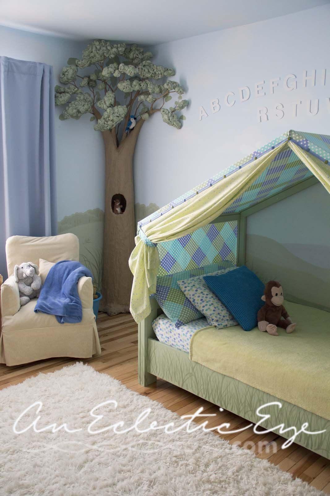 Tente De Lit Enfant Fraîche Diy Bed Tent … Chambre Enfant Pinterest