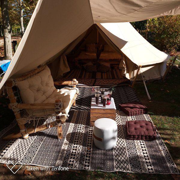 Camp tente Inuit Tupiq silik 19 6m²