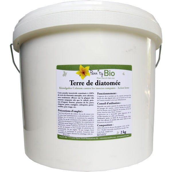 Terre de diatomée – Kieselguhr Celatom Insecticide