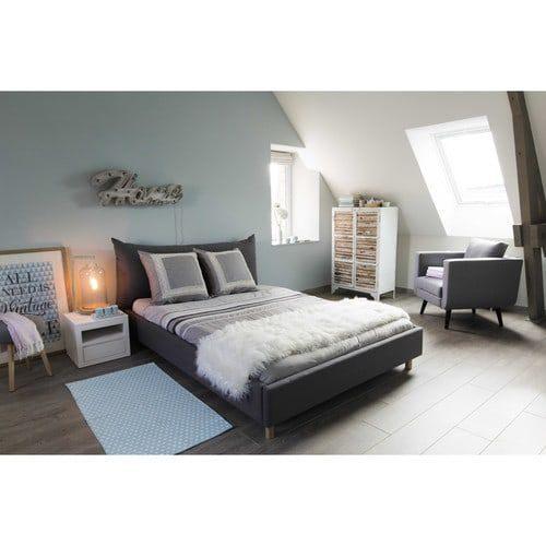Tete De Lit 140×190 Bel Tapis En Coton Bleu 60 X 120 Cm origami Home Ideas