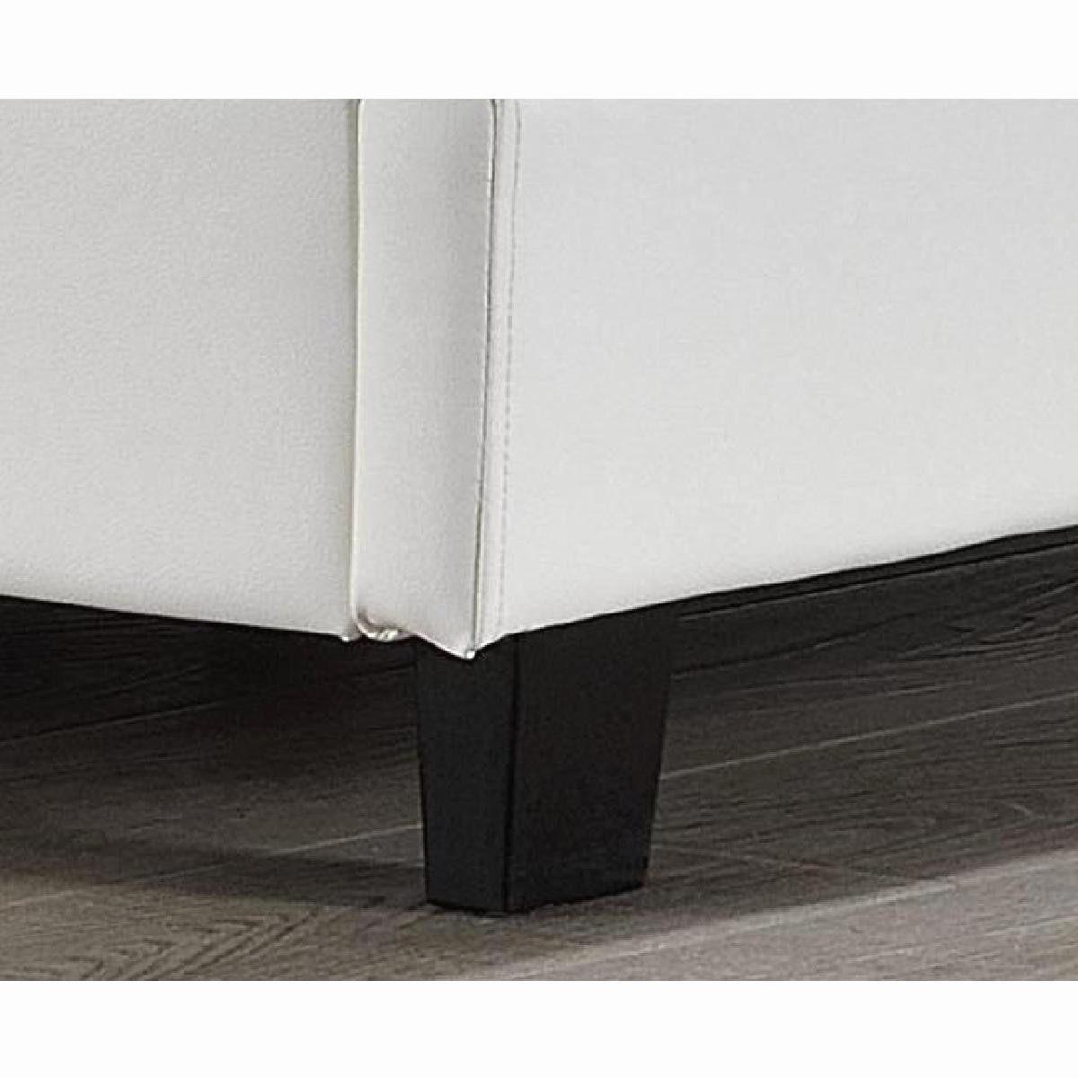 Tête De Lit 160 Avec Rangement Fraîche Nouveau Collection De Lit Capitonné Blanc
