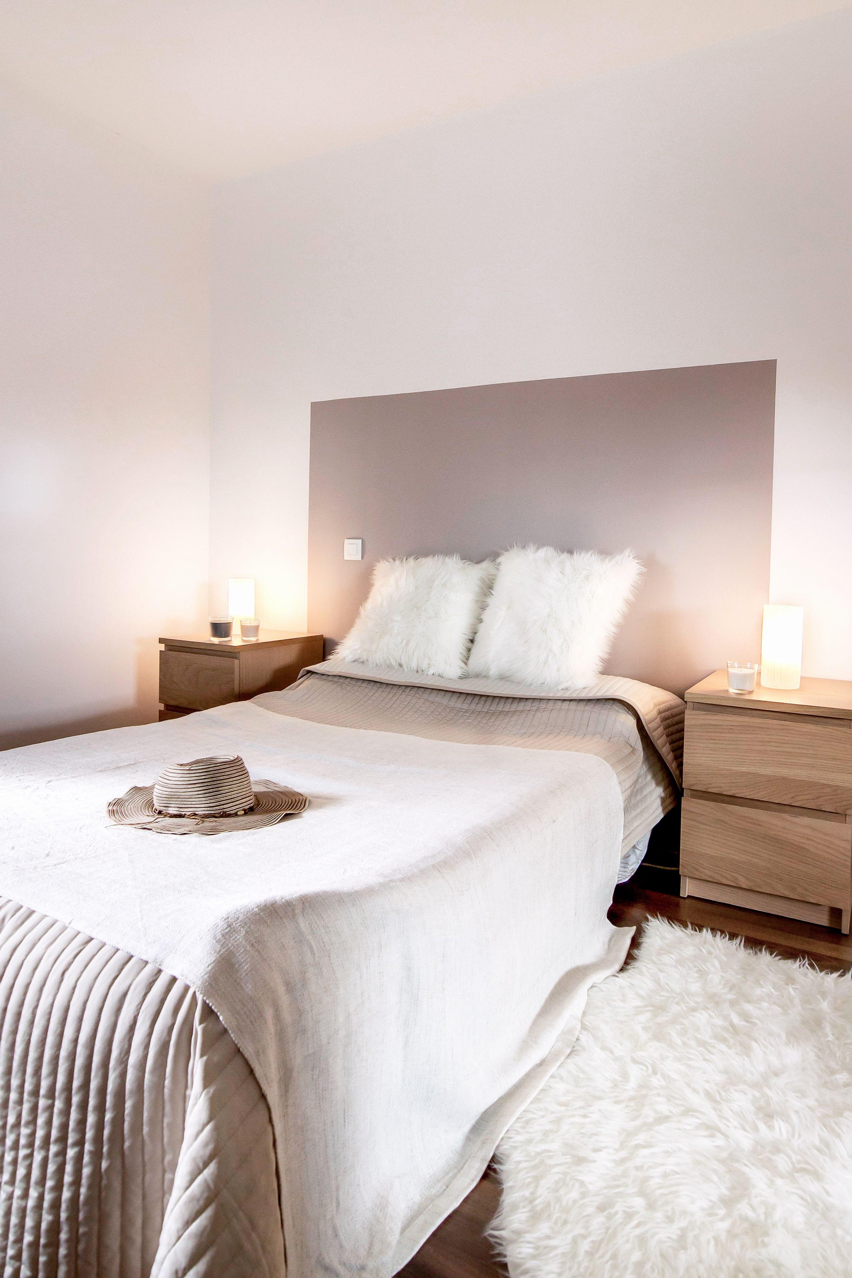 Tete De Lit 160 Bois Le Luxe Tete De Lit Blanche 160 Frais Chambre Decoration Taupe Et Blanc