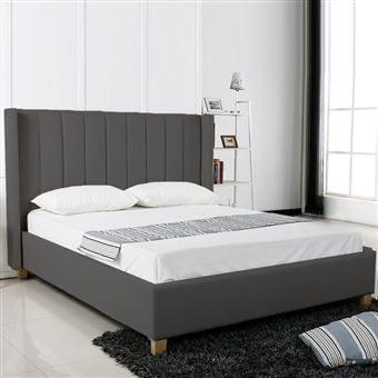 Tete De Lit 160×200 Belle Lit Design Grand Tªte De Lit King Gris 160×200 Achat & Prix