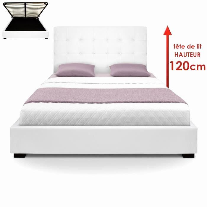 Tete De Lit 160×200 De Luxe 65 Concept Cadre Lit 160×200