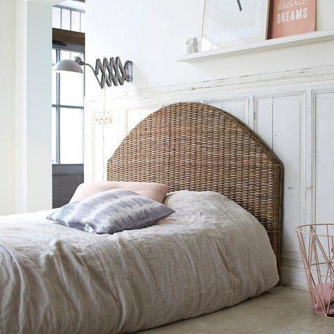 Tªte de lit en rotin 155 Louison 3Suisses Home Sweet Home