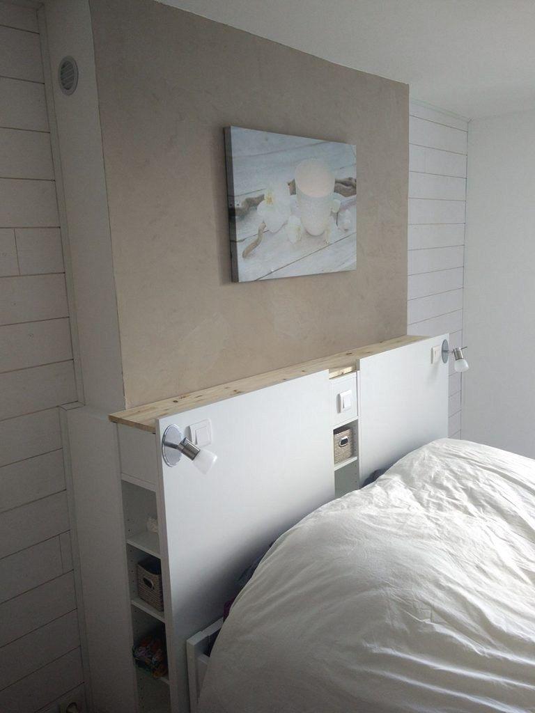 Tete De Lit Avec Chevet Intégré Ikea Impressionnant Tete De Lit Gain De Place
